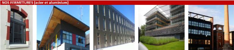 Fermetures réalisées par l'entreprise Laugel & Renouard