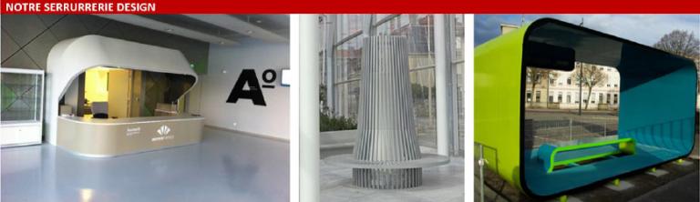 Serrurerie design réalisée par l'entreprise Laugel & Renouard